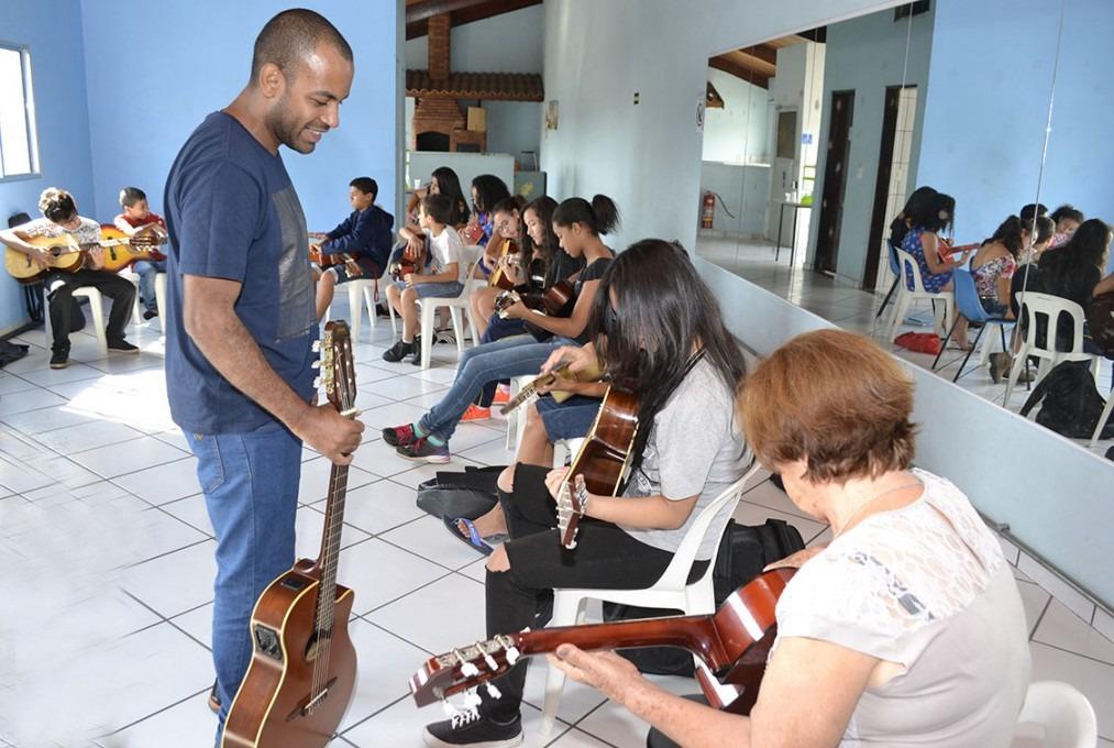 Oficinas culturais recebem mais de 400 alunos cajamar for Oficinas de cajamar