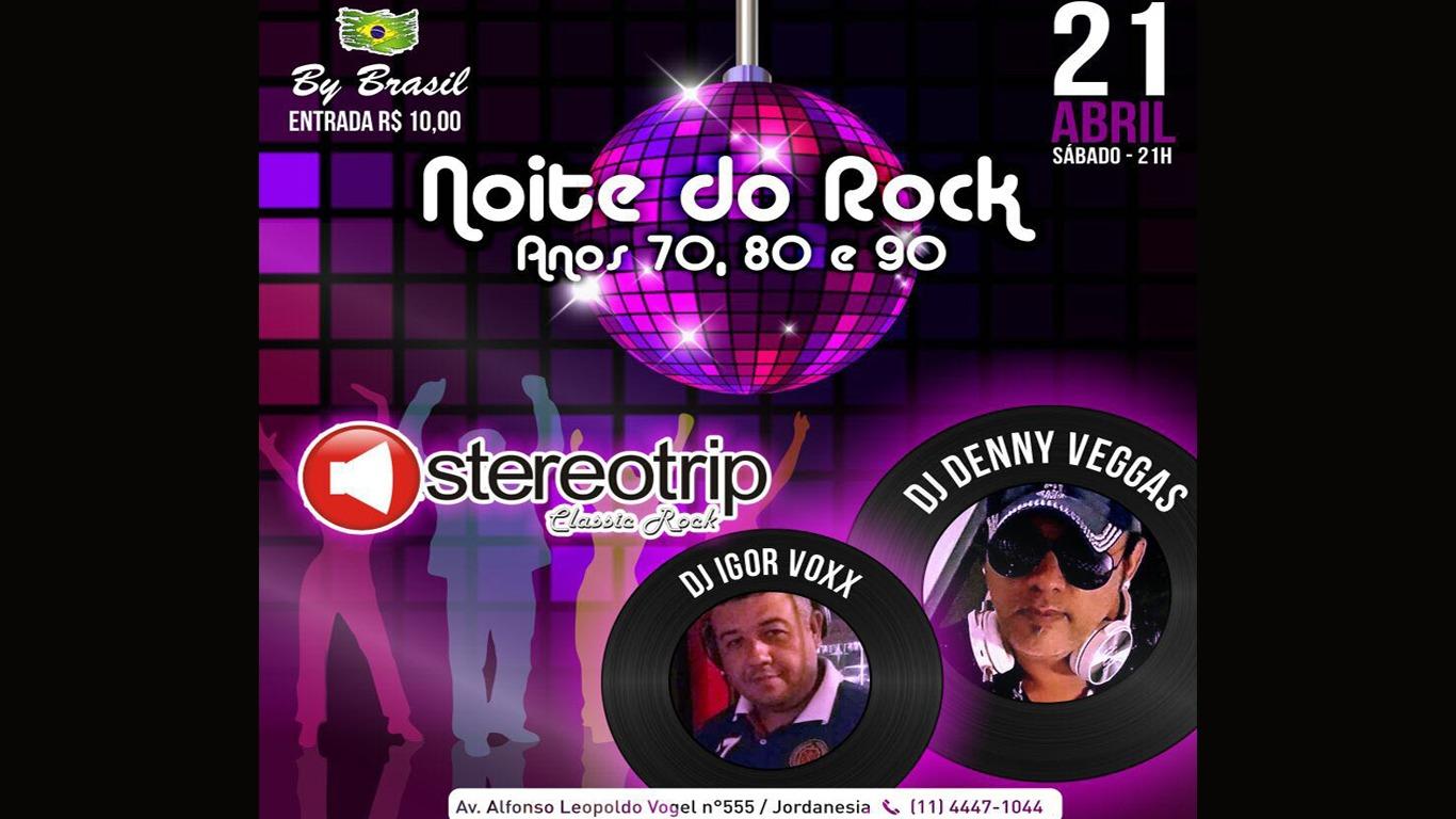 Espaço By Brasil realiza Noite do Rock com sucessos dos anos 70, 80 e 90