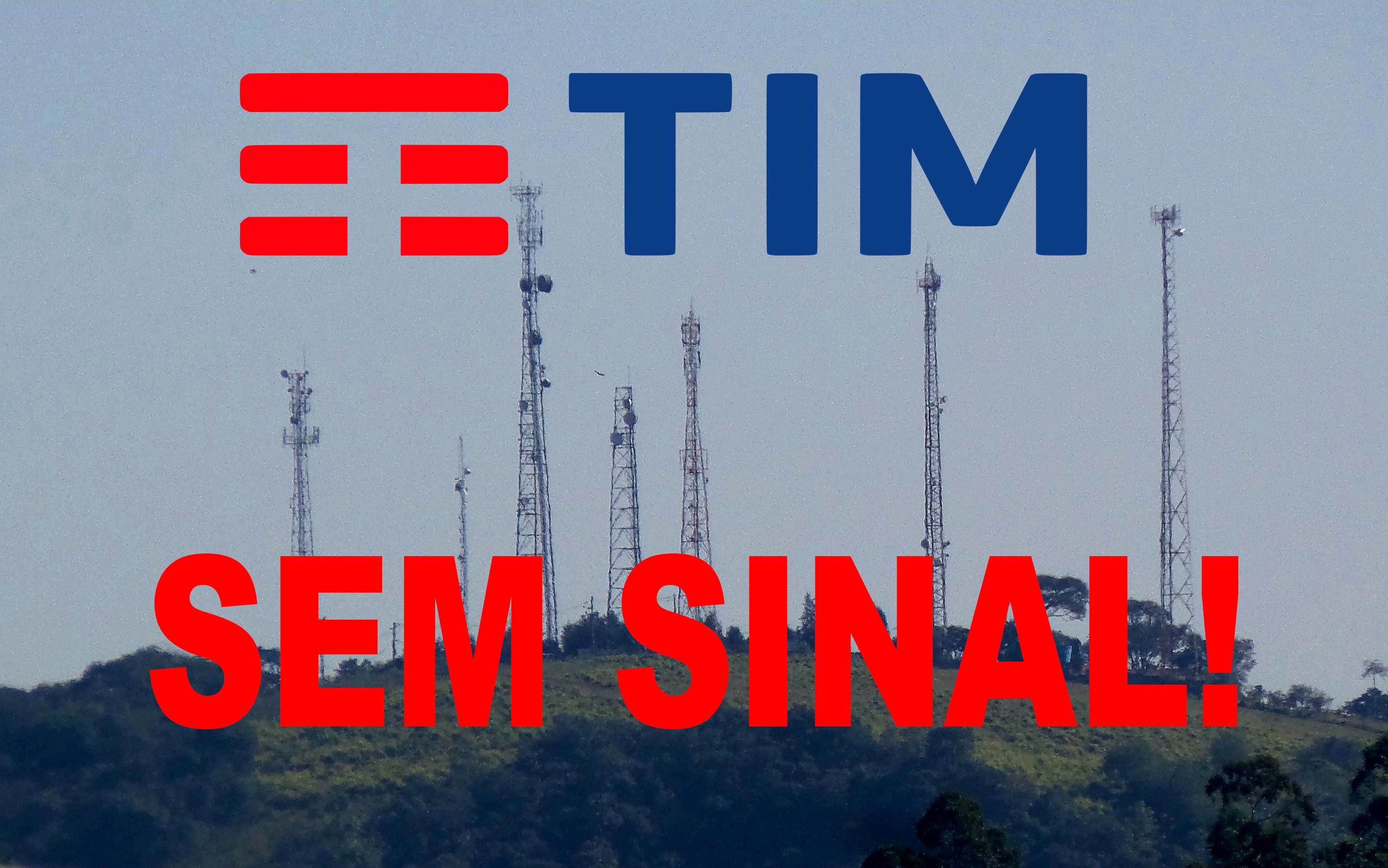 Resultado de imagem para SINAL RUIM TIM