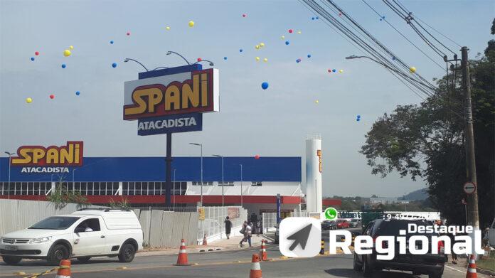 Spani Atacadista Cajamar. Inauguração.